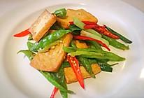 尖椒老豆腐的做法