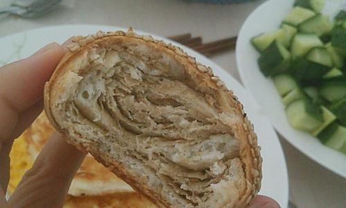 芝麻酱烧饼的做法
