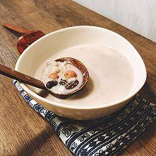 椰浆芋头芡实浓汤