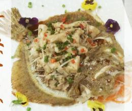 两吃兴城多宝鱼:清蒸+干煎的做法