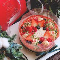 莓果红丝绒裸蛋糕#安佳烘焙学院#