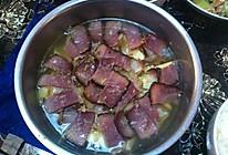春笋炖腊肉的做法