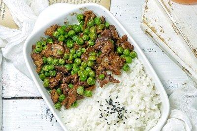 豌豆牛肉   #春天肉菜这样吃#