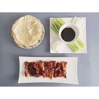 家庭版北京烤鸭+荷叶饼+酱料