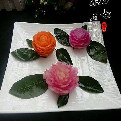 萝卜雕花的做法_【图解】萝卜雕花怎么做好吃_萝卜