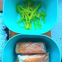 快手寿司三明治#极速早餐#的做法图解1