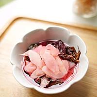 #爽口凉菜,开胃一夏!#紫苏腌酸子姜的做法图解7