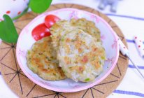 白萝卜莲藕饼 宝宝辅食食谱的做法