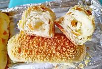橙香酥粒面包的做法