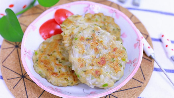 白萝卜莲藕饼 宝宝辅食食谱