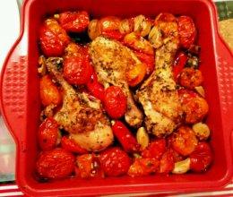 罗勒番茄烤鸡腿~简单快手party美味的做法