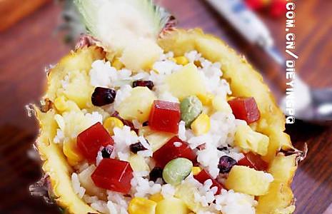 开胃菠萝饭的做法