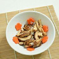 快手鸡丝香菇粥#急速早餐#的做法图解2