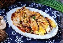 #柏翠辅食节-营养佐餐#鸡蛋花菇肠粉的做法