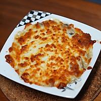 #助力高考营养餐#培根芝士焗口蘑的做法图解7