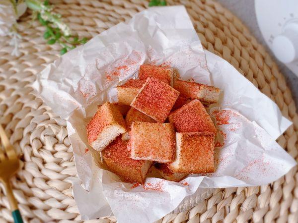 草莓吐司脆脆的做法