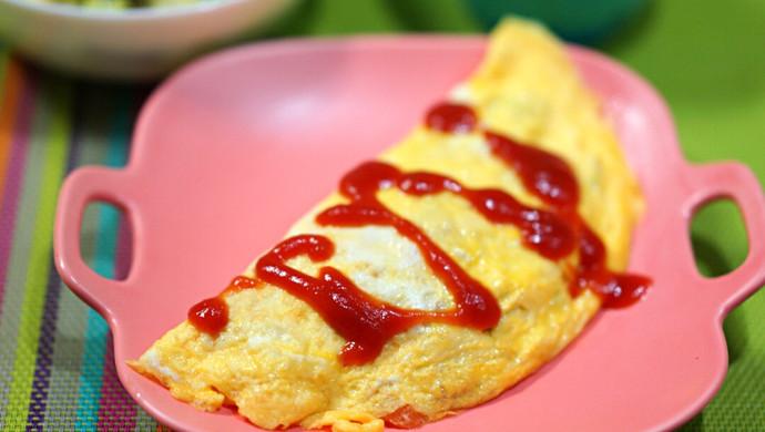 番茄蛋包饭