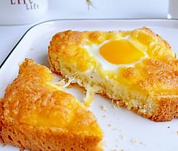 简单快手美味马苏里拉蛋吐司片的做法