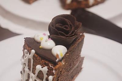 巧克力鲜奶蛋糕