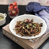 超级无敌好吃-干煸茶树菇的做法图解7