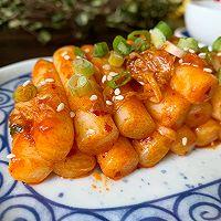 韩国泡菜炒年糕的做法图解9