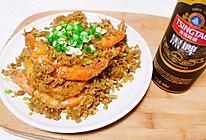 #餐桌上的春日限定#痛风套餐✨金银蒜蓉椒麻虾的做法
