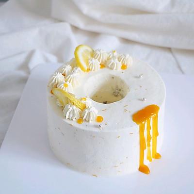 清爽柠檬奶油蛋糕