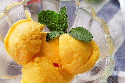 芒果冰淇淋(免蛋免搅无渣)