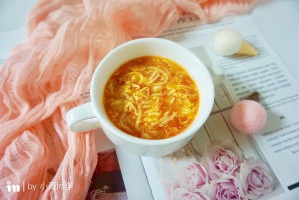 银鱼番茄鸡蛋挤挤面#柏翠辅食节—营养佐餐#的做法