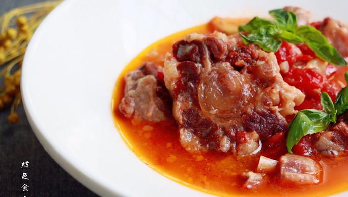 红酒西红柿牛尾汤
