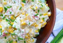 培根土豆玉米沙拉的做法