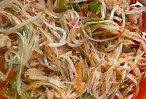绿豆芽炒肉丝的做法