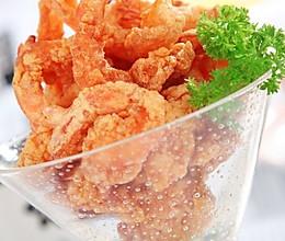 马来香煎脆虾的做法