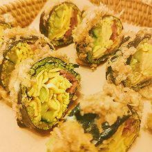 生酮低脂无米黄金寿司㊙️太好吃了吧