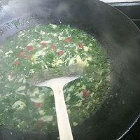 #节后清肠大作战#菠菜蛋花汤的做法图解9