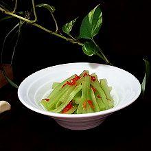 剁椒莴笋 #我的拿手菜#