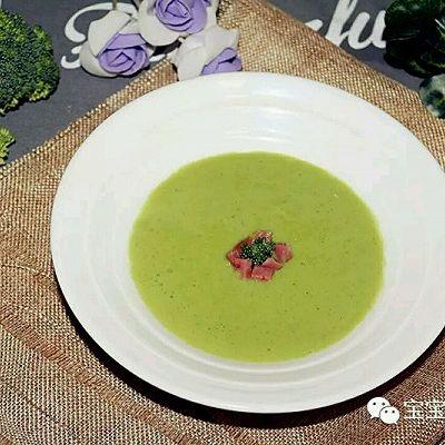 香气四溢!给孩子补充营养,怎能少了这碗西兰花土豆浓汤?