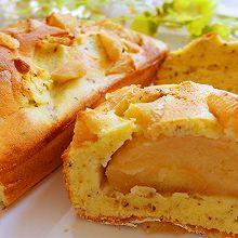红茶苹果乳酪磅蛋糕