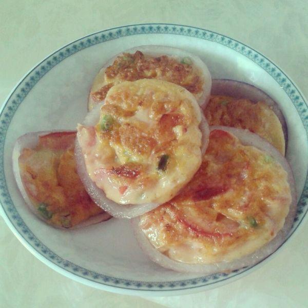 洋葱田园饼的做法