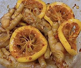 #营养小食光#酸辣柠檬鸡爪的做法