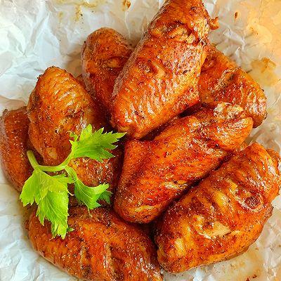 好吃到爆的烤鸡翅外焦里嫩