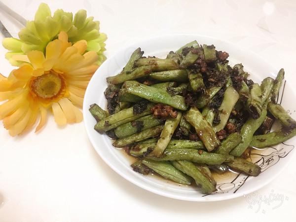 腌菜做法煸四季豆的美食_做法_豆果肉末潮汕红烧肉家常菜菜谱做法图片