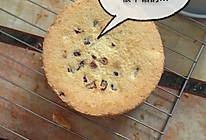 面包机版蔓越梅戚风蛋糕的做法