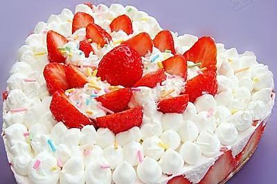 奶油草莓蛋糕