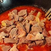 番茄炖牛腩的做法图解6
