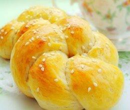 花式鲜奶油面包的做法