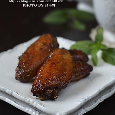 迷迭香红酒烤翅