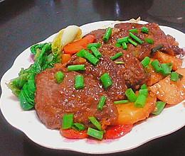 """〈""""#舌尖还原#xx"""")土豆烤牛排灬香嫩美味的做法"""