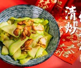 清炒佛手瓜 年后减肥菜系列【大酱日记】#钟于经典传统味#的做法