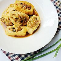 客家酿做法的豆腐_【图解】晚餐酿客家做学生一豆腐菜谱大全周图片